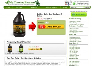Step2 to Enter My Cleaning Products Coupon Code
