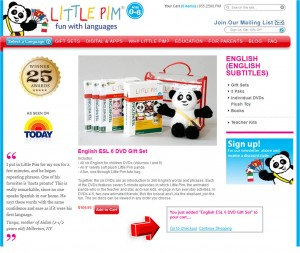 Step3 to Enter Little Pim Coupon Code