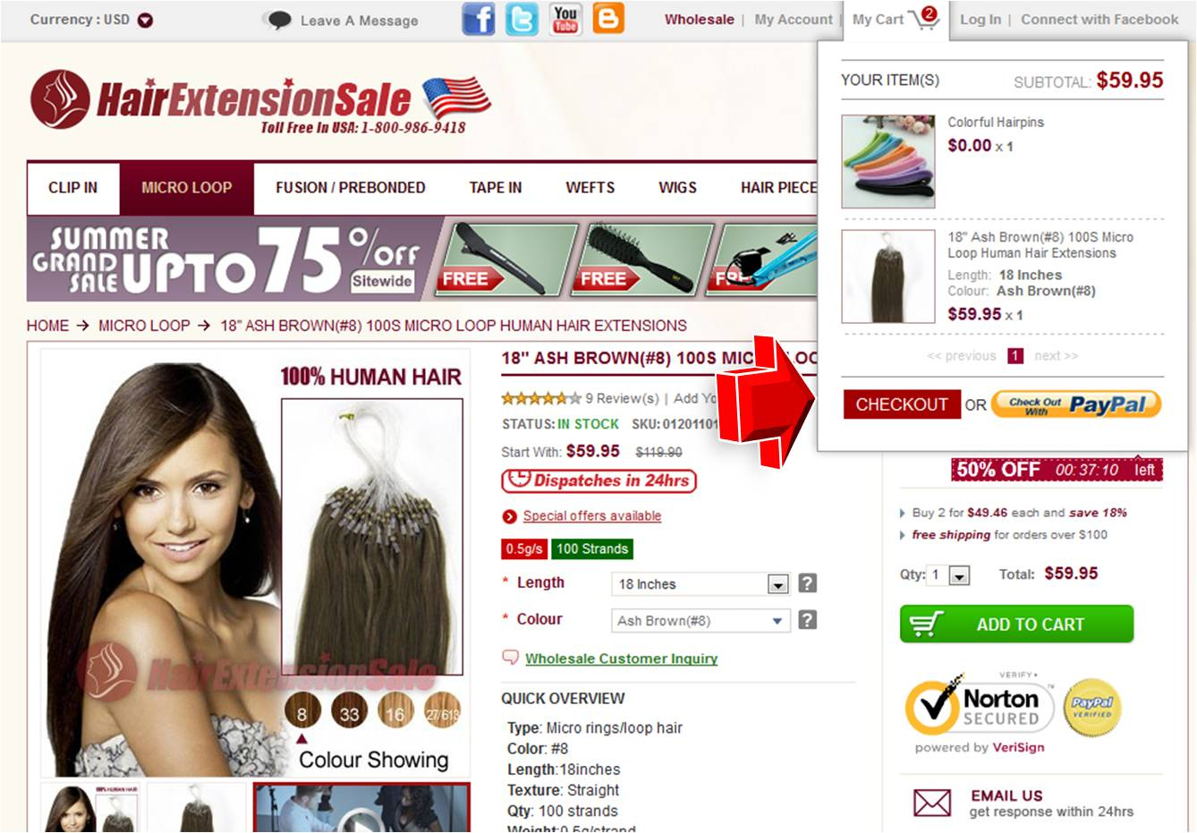 Yummy Hair Extensions Coupon Code 2013 58