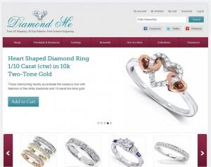 Step1 to Enter Diamond-Me Coupon Code