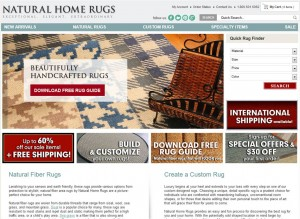 Step1 to Enter Natural Home Rugs Coupon Code