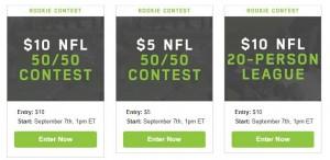 FanDuel NFL Rookie Contest