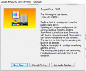 How to Reset and Cancle Error with Canon Ink Cartridges