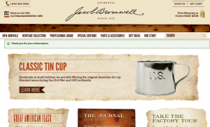 Step1 to Enter Jacob Bromwell Coupon Code