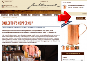 Step3 to Enter Jacob Bromwell Coupon Code