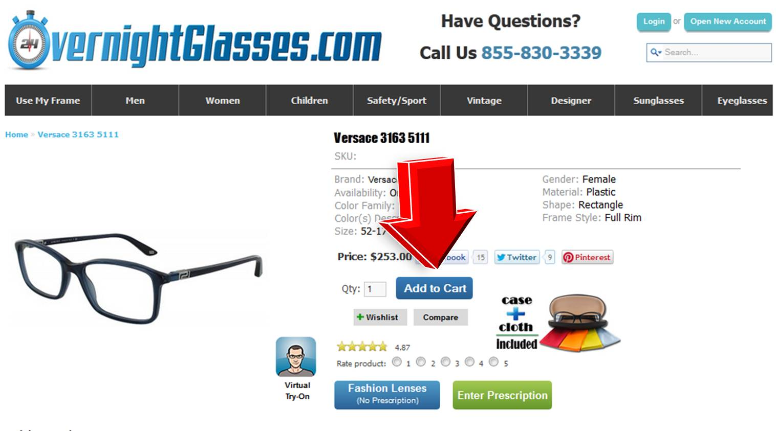 Glasses.com coupon code