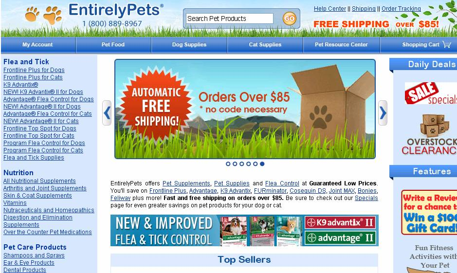 Take 16% Off At Entirely Pets W/ Code. From dogs to cats and anxiety meds to allergy aids, save more at Entirely Pets. Use the promo code and save 16% Sitewide. Better hurry. offer ends 7/8.