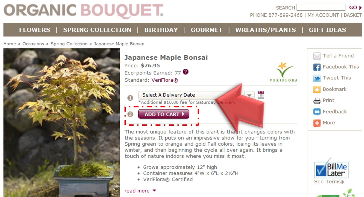 How to use a Organic Bouquet coupon Organic Bouquet is a fabulous eco-friendly shop that allows one to send flowers and gourmet gifts on unique occasions with their seasonal sales. Email signup grants one access to coupons, special promotions and great member-only offers.