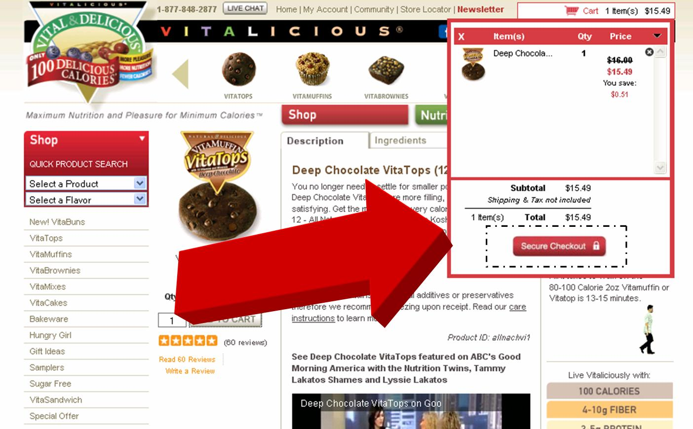Vitalicious Coupon – Coupon Disclaimers