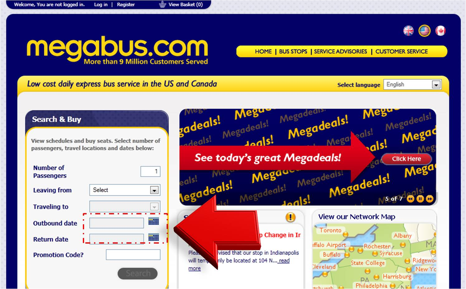 Megabus Coupon – Coupon Disclaimers