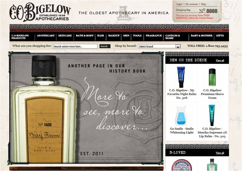 If you seek more than just C.O. Bigelow coupon codes, we provide coupons and discounts for over 50, brands and retailers. Check out these related stores, or visit our complete directory to search our database of over one million coupon codes.