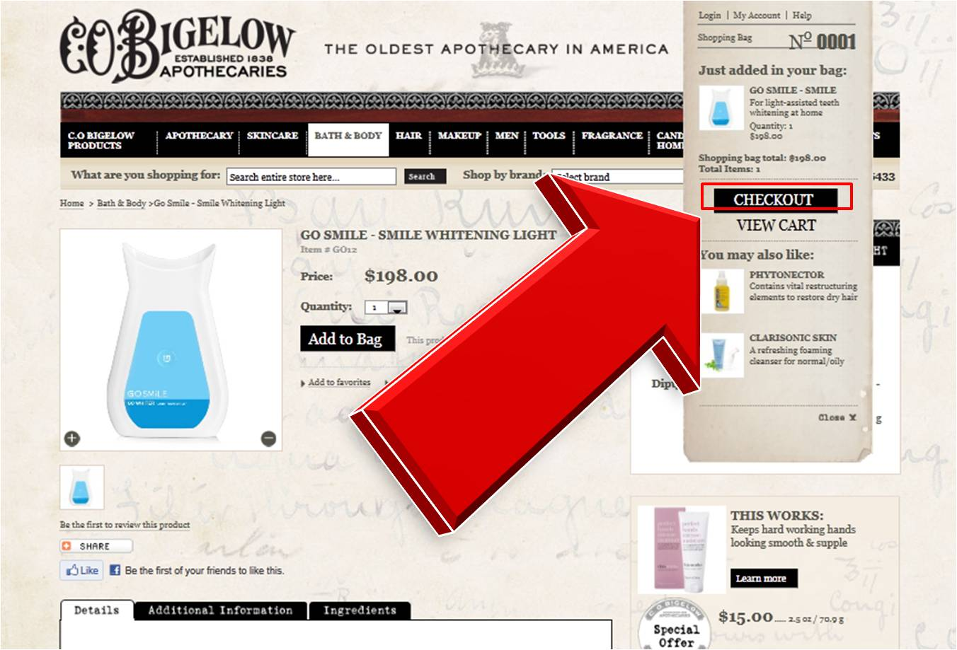 C.O. Bigelow Apothecaries offers promo codes often. On average, C.O. Bigelow Apothecaries offers 6 codes or coupons per month. Check this page often, or follow C.O. Bigelow Apothecaries (hit the follow button up top) to keep updated on their latest discount codes. Check for C.O. Bigelow Apothecaries' promo code exclusions.4/4(2).