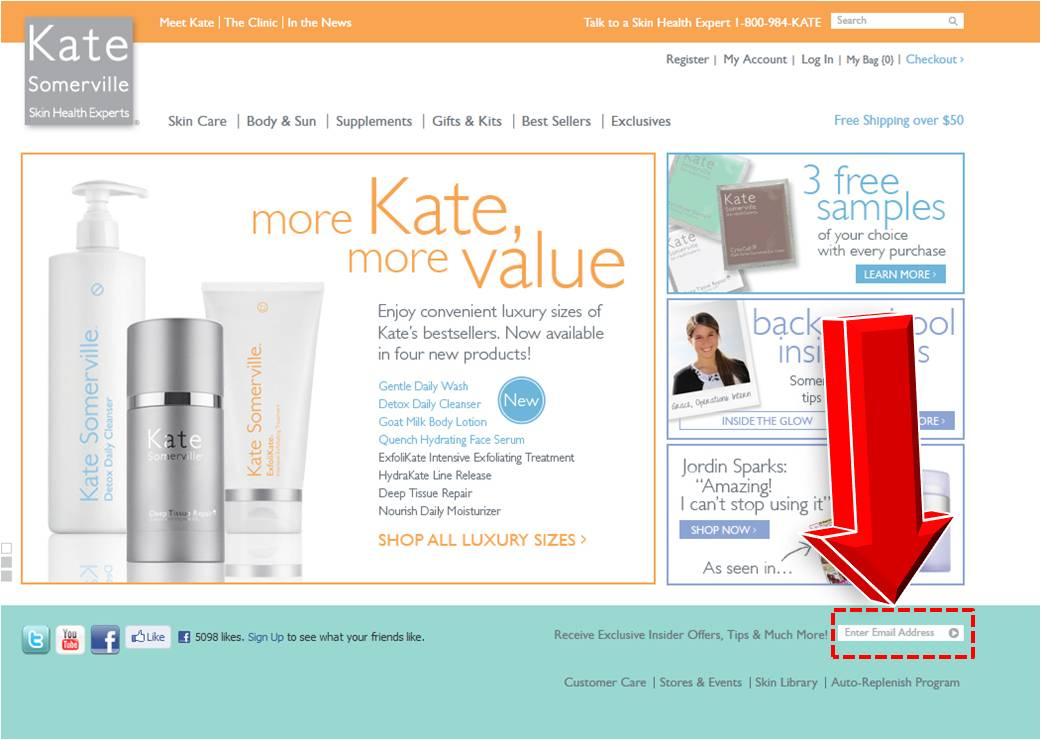 Kate somerville coupons discounts