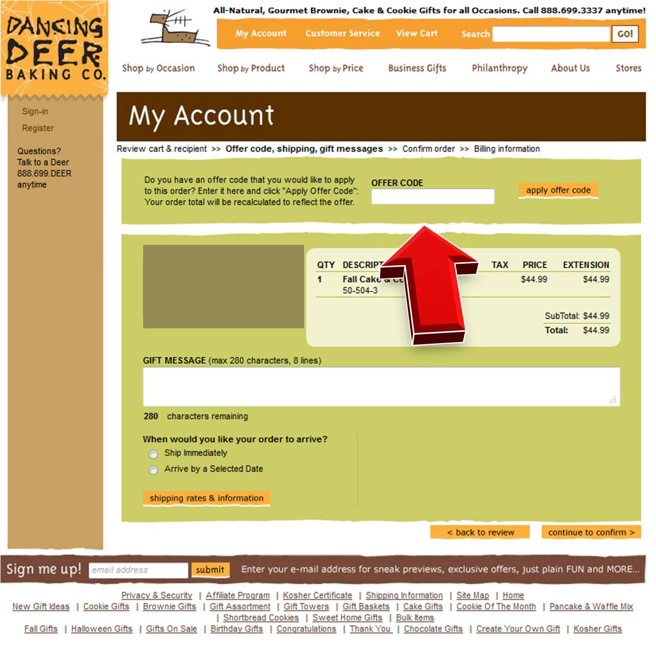 K deer coupon code