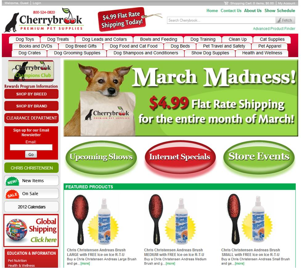 About Cherrybrook. Cherrybrook is a retail store that provides products and.