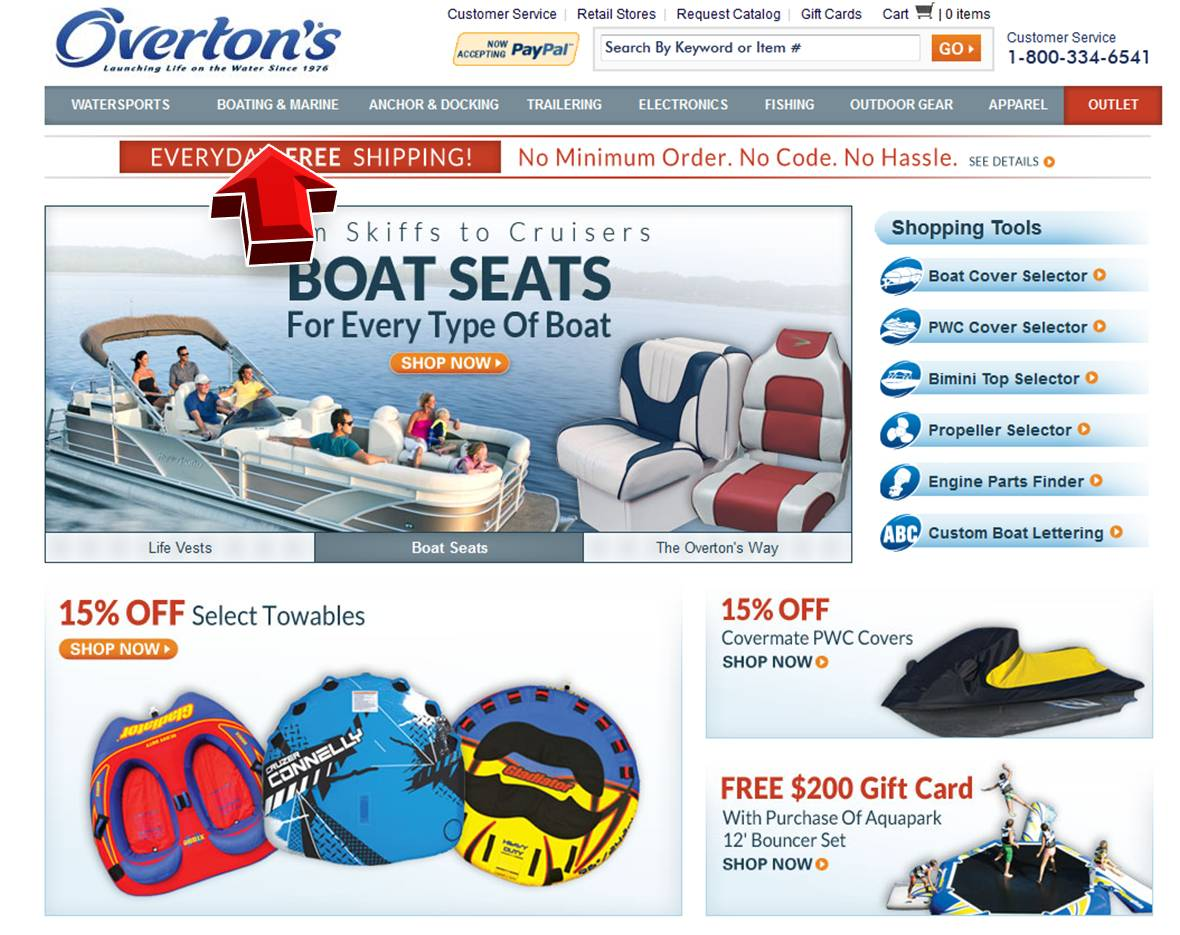 Overtons Boating Amp Marine Coupon Code