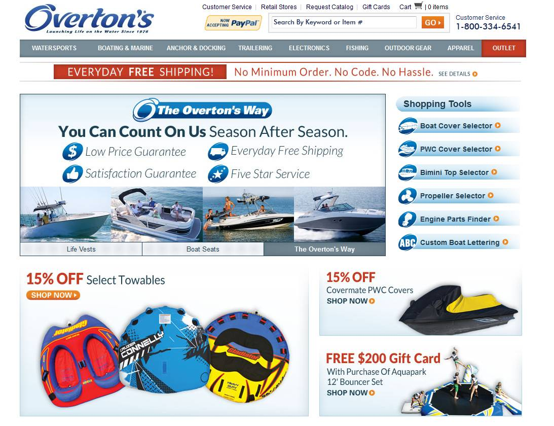 Overtons Catalog Code Coupon Code