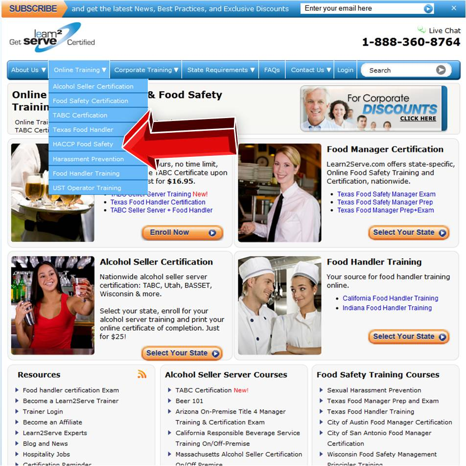 Learn2Serve HACCP Food Safety – Coupon Code