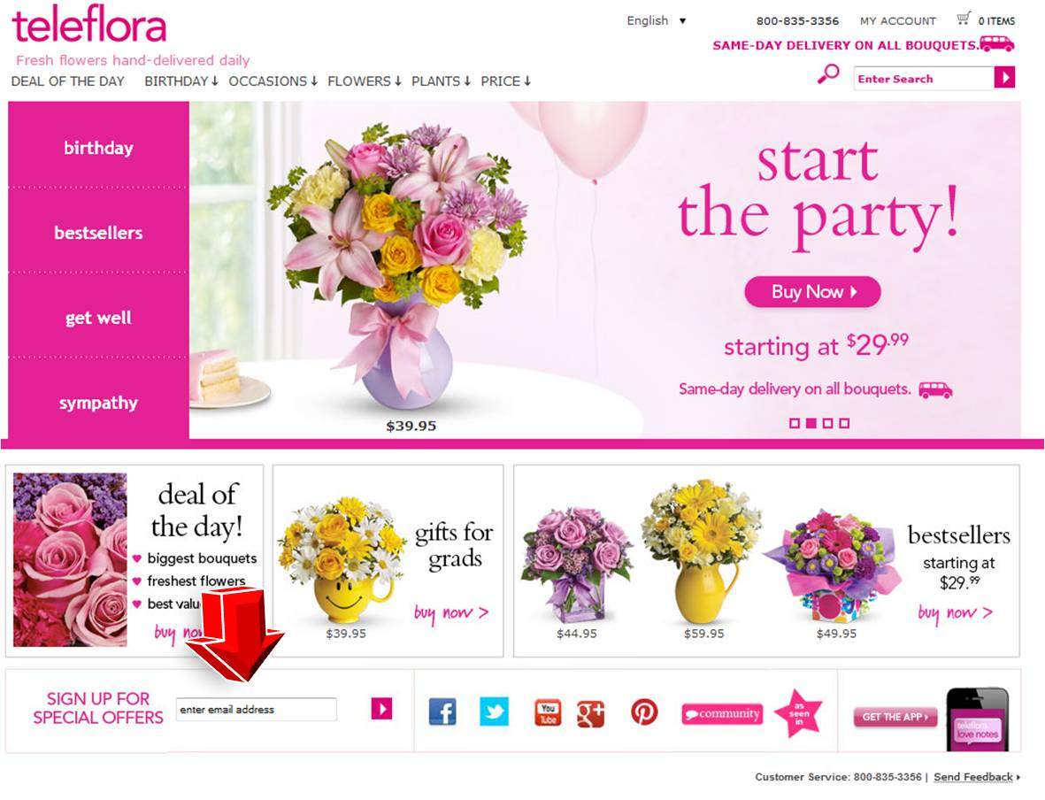 Teleflora July coupon codes and sales, just follow this link to the website to browse their current offerings. And while you're there, sign up for emails to get alerts about discounts and more, right in /5(5).