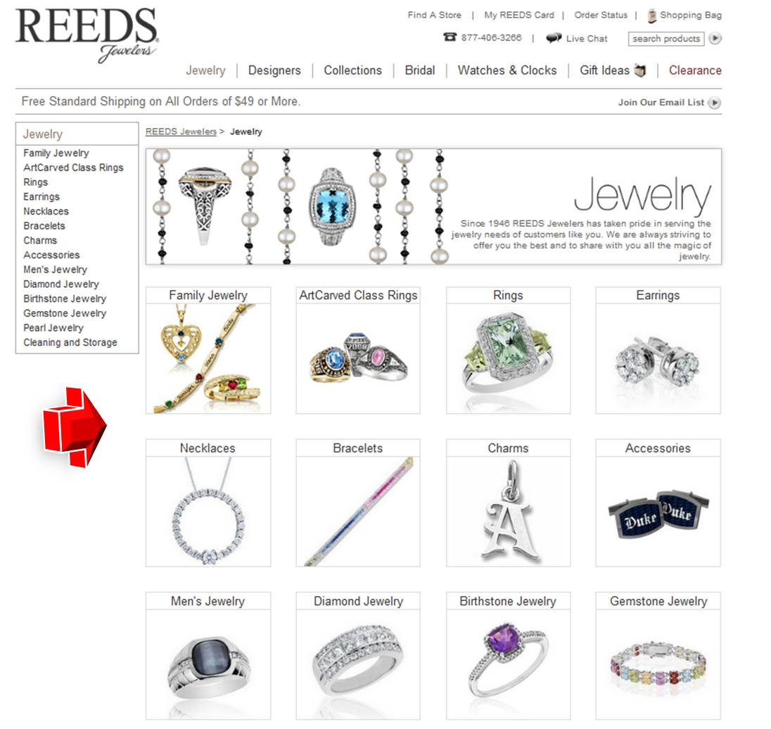 Reeds jewelry coupon code for Code postal charmes