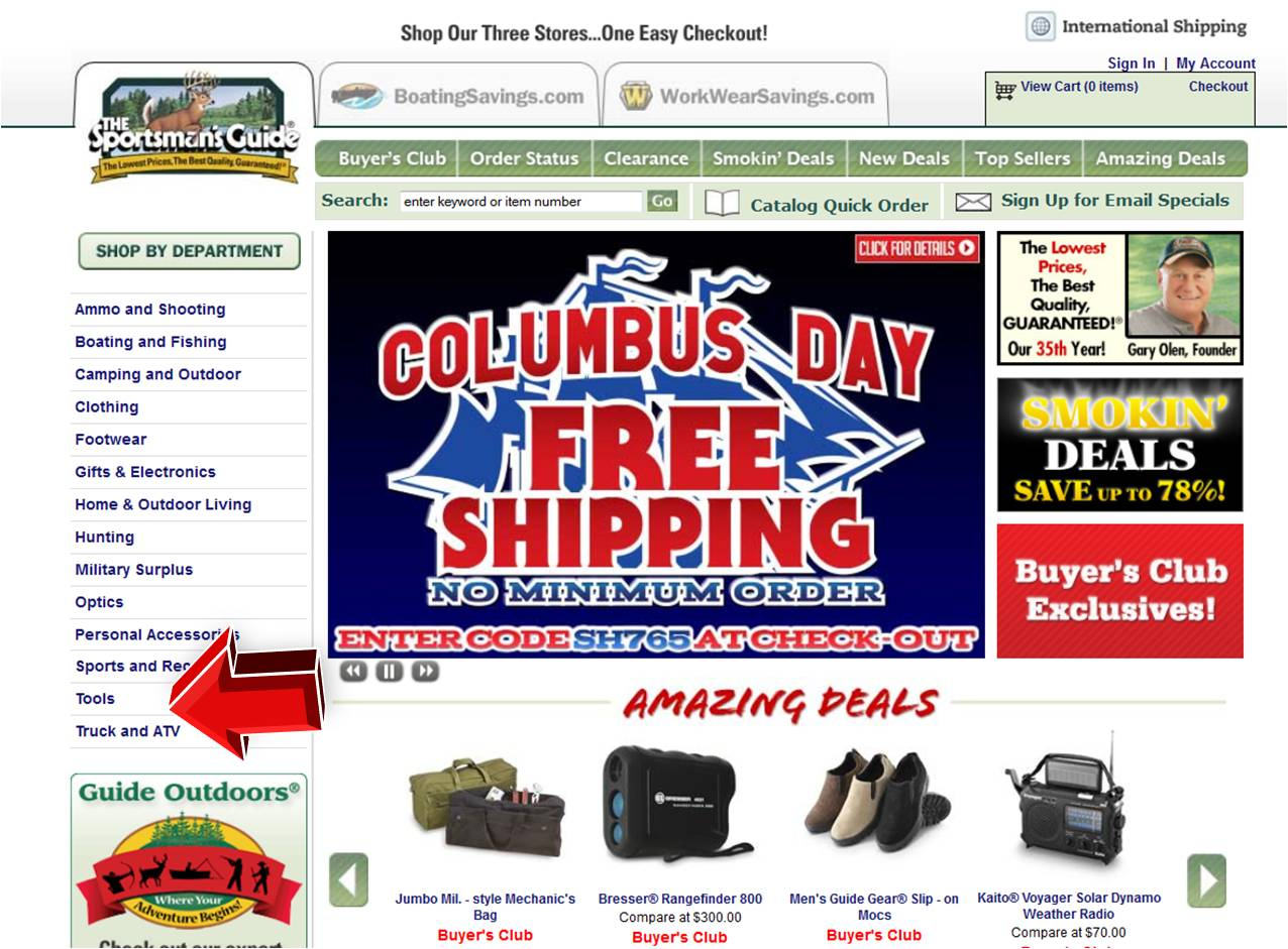 guide sportsmans coupons tools sportsmansguide sportsman coupononlinecodes code