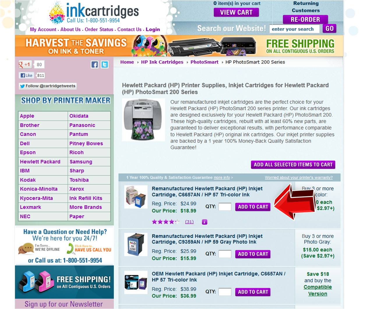 inkcartridges com coupon code