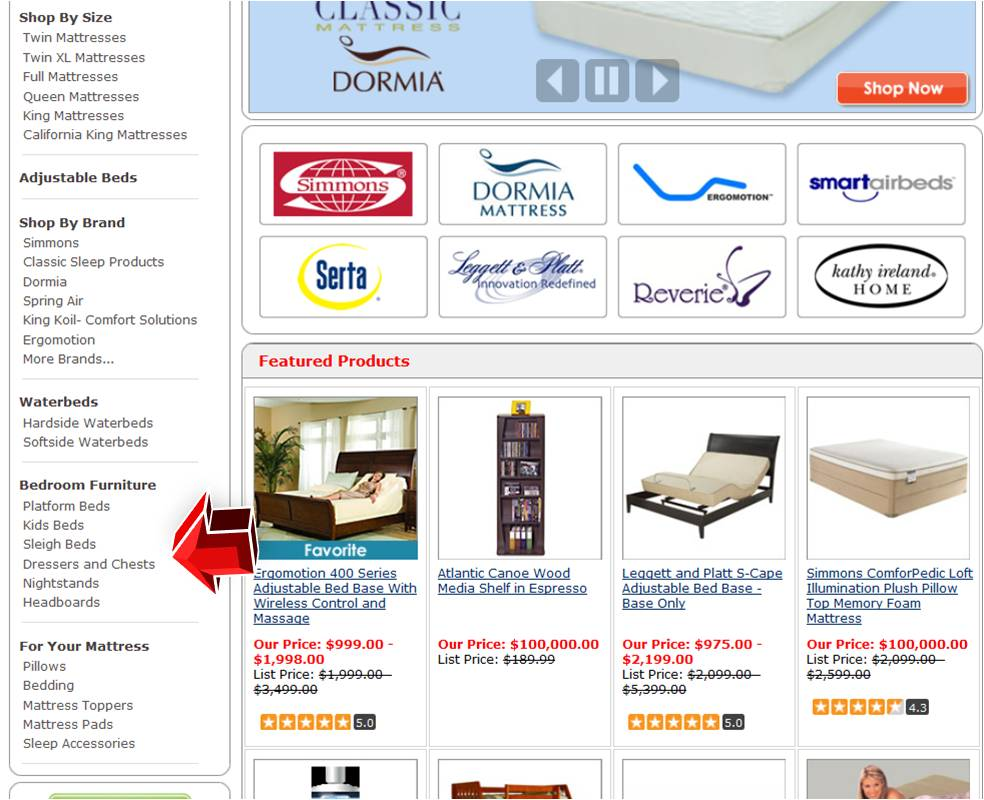 Us beds bedroom furniture coupon code for Bedroom furniture 50 off