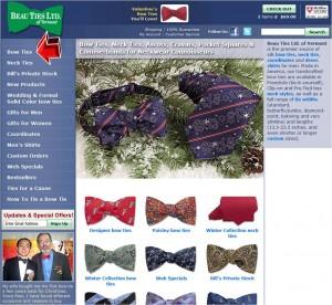 Bow Ties from Beau Ties