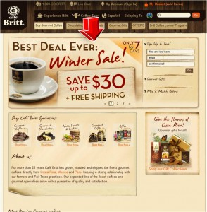 Cafe Britt Save $30 Off Plus Free Shipping