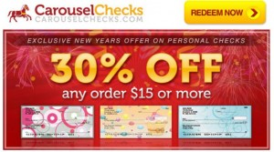 Carousel Checks 30 percent Off