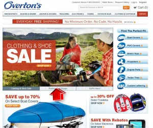 Clothing & Shoe Sale from Overtons