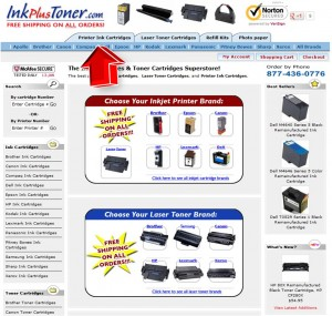 InkPlusToner Printer Ink Cartridges