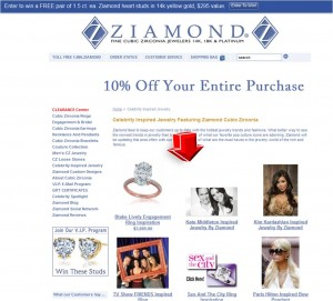 List of Celebrity Inspired Jewelry from Ziamond