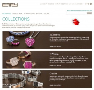 List of Collections from Effy Jewelers