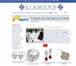 List of Couture Collection from Ziamond