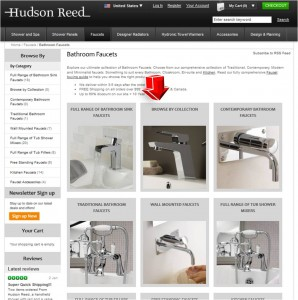 List of Hudson Reed Bathroom Faucets