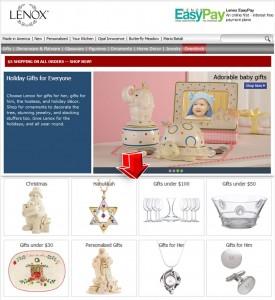 List of Lenox Gifts