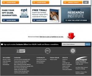NASM Mailing Services