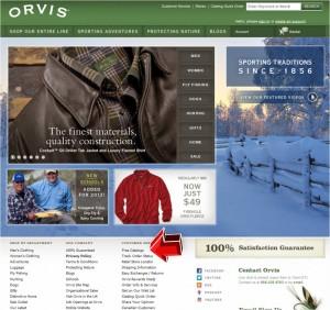 Orvis Free Catalogs