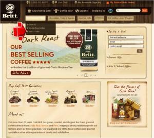 Peru Coffee from Cafe Britt