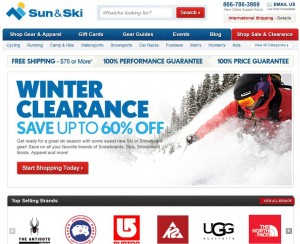 Step1 to Enter Sun & Ski Coupon