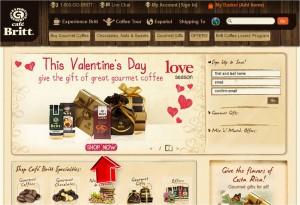 Cafe Britt Valentine's Day