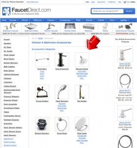 List of Accessories from FaucetDirect
