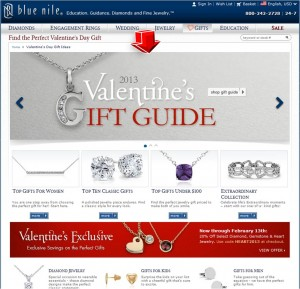 List of Gifts from BlueNile