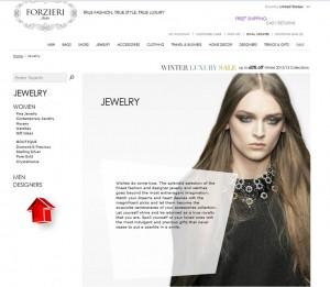 List of Jewelry from Forzieri