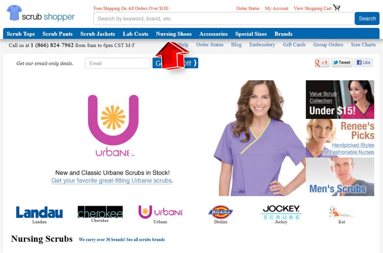 Medical scrubs collection discount coupon