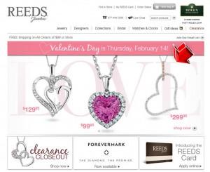 Reeds Jewelers Valentine's Day