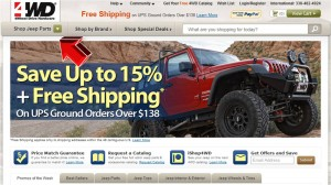 Replacement Parts from 4WD