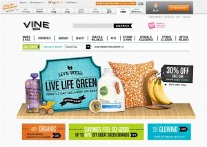 Step1 to Enter Vine.com Coupon