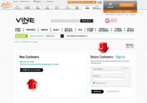Step5 to Enter Vine.com Coupon